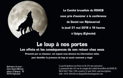 2018 conference sur le loup