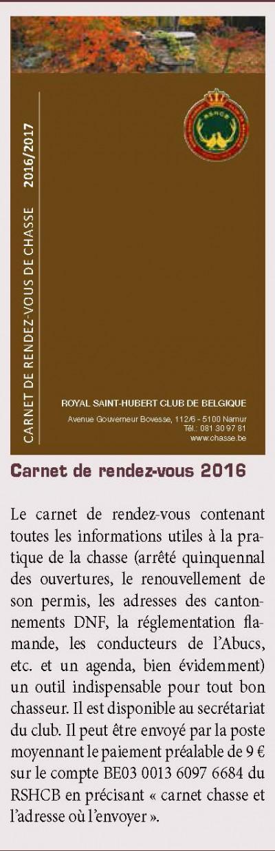 carnet rv 2016