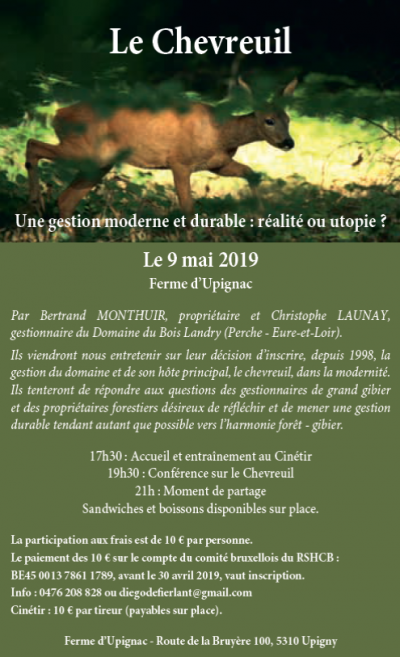 2019 conference chevreuil